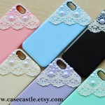 Lace and Pearls iPhone 5 Case
