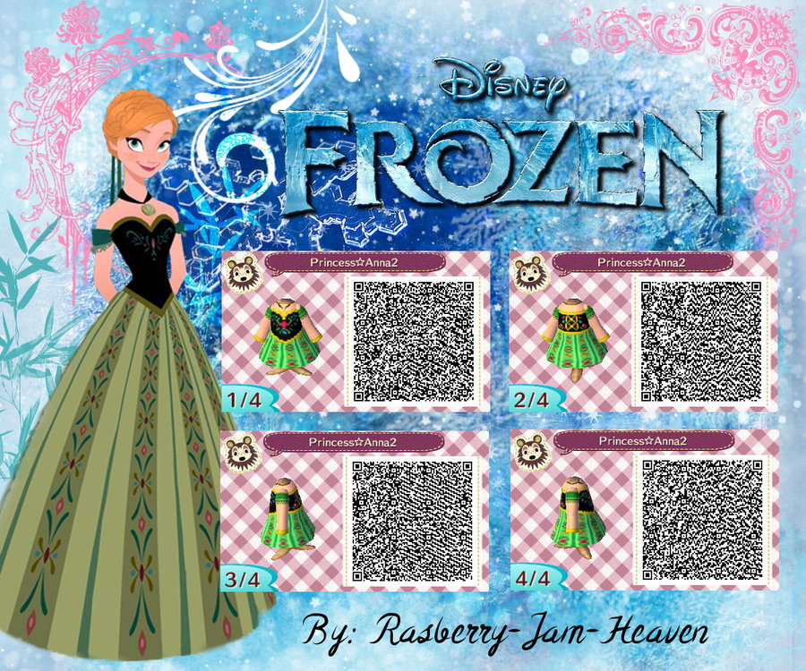animal crossing frozen anna green dress qr code animal crossingQr Codes Animal Crossing New Leaf Dresses