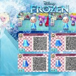 Animal Crossing Frozen Elsa QR Code