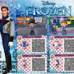 Animal Crossing Frozen Hans QR Code