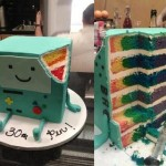 BMO Birthday Cake