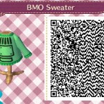 BMO Sweater Animal Crossing QR Code