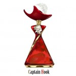 Captain Hook Disney Villain Perfume Bottle
