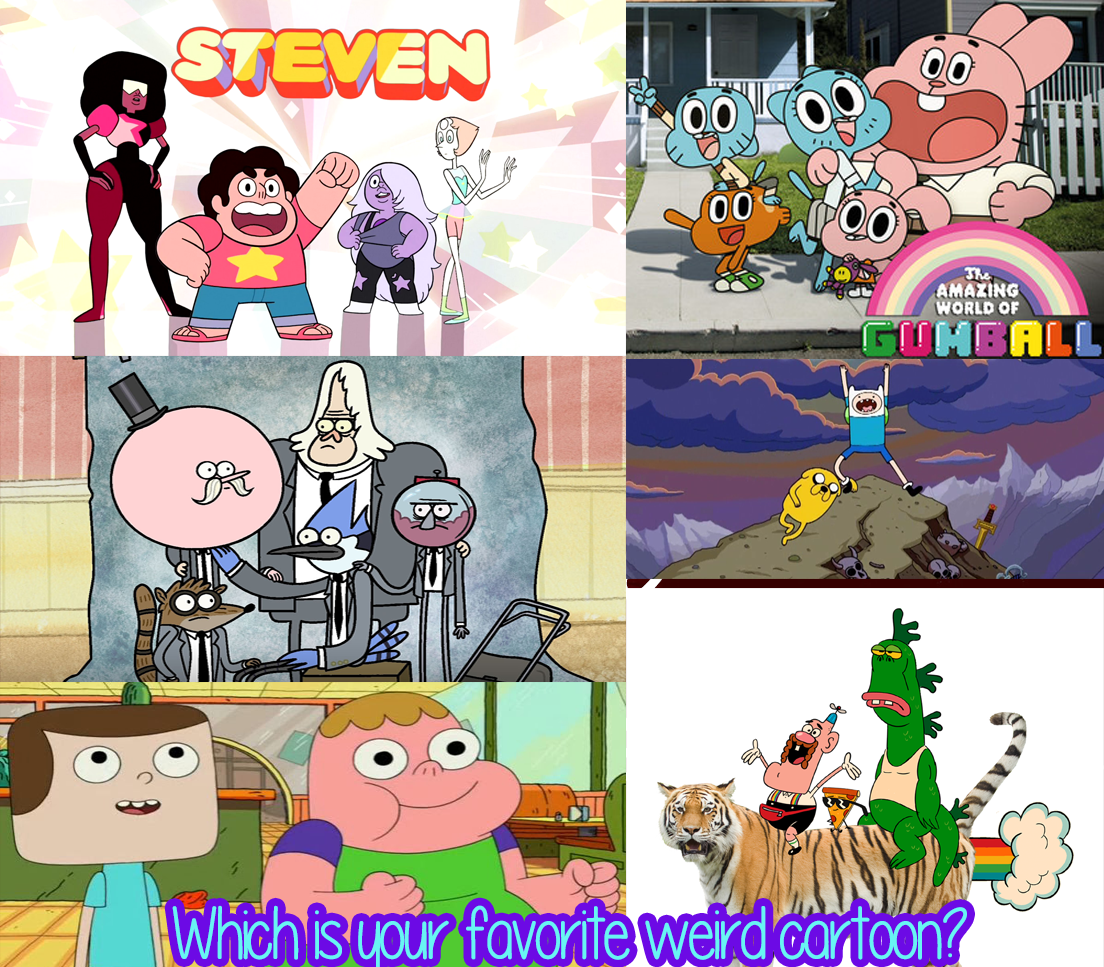 What's Your Favorite Weird Cartoon Network Cartoon?