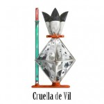 Cruella de Vil Disney Villain Perfume Bottle