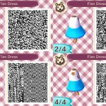 Finn Dress Animal Crossing QR Code
