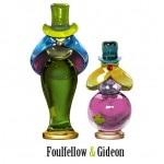 Foulfellow and Gideon Disney Villain Perfume Bottle
