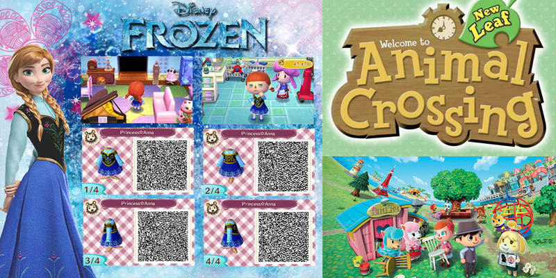 Frozen Animal Crossing Qr Codes Yayomg