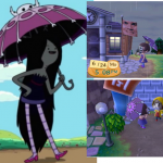 Marceline Outfit Animal Crossing QR Code