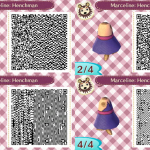 Marceline Dress Animal Crossing QR Code