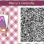 Marceline Umbrella Animal Crossing QR Code