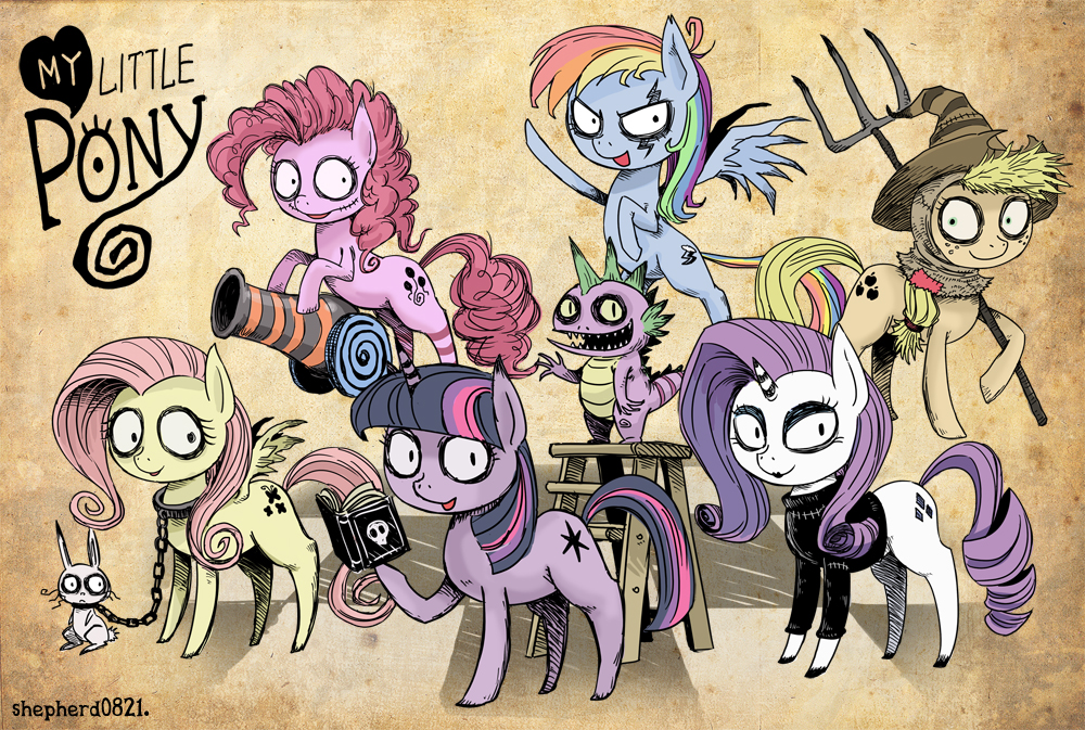 My Little Pony Tim Burton