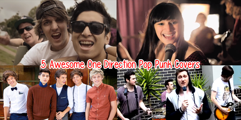 One Direction Pop Punk Covers