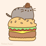 Pusheen Wearing Pharrell's Hat