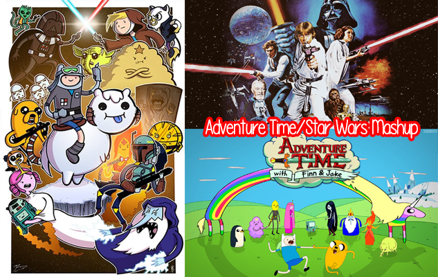 Adventure Time Star Wars Mashup