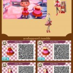 Apple White Animal Crossing QR Code