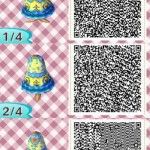 Blondie Locks Animal Crossing QR Code