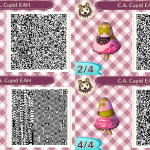 CA Cupid Animal Crossing QR Code