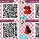 Cerise Hood Animal Crossing QR Code