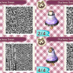 Duchess Swan Animal Crossing QR Code