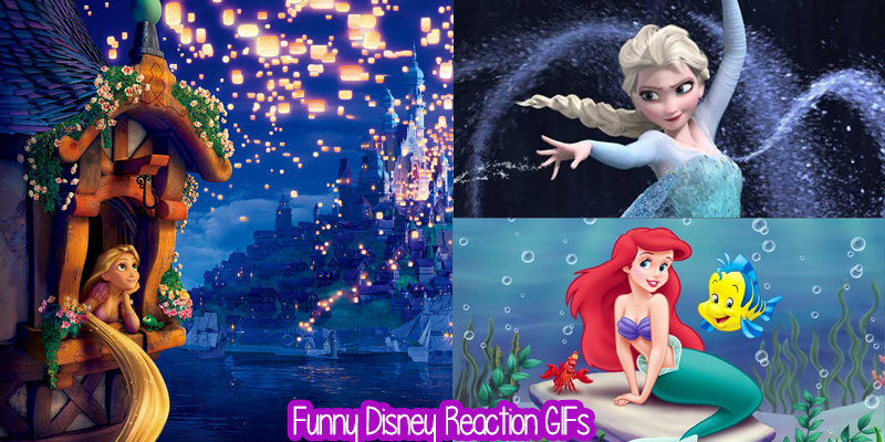 Funny Disney Reaction GIFs