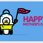 Geeky Mother's Day Card - Minion
