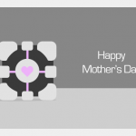 Geeky Mother's Day Card - Portal