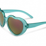 Turquoise Heart Sunglasses