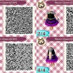 Raven Queen Animal Crossing QR Code