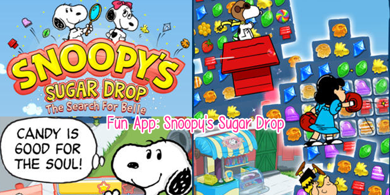 Fun App: Snoopy's Sugar Drop