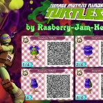 TMNT Animal Crossing QR Codes