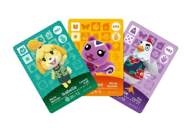 Animal Crossing Happy Home Designer - Amiibo Cards