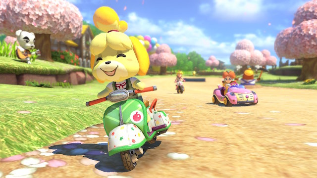Mario Kart 8 DLC - City Tripper