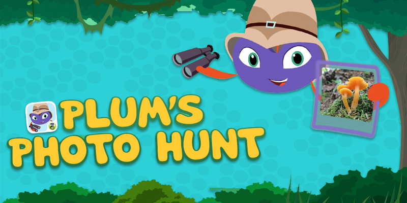 Plum's Photo Hunt App - PBS Kids