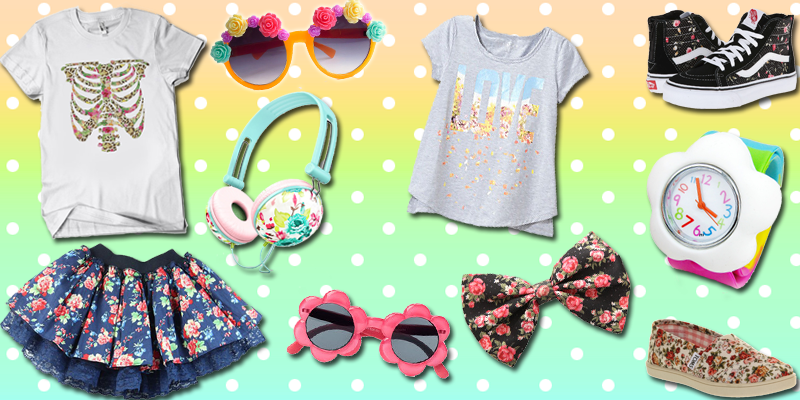 Flower Power Outfit - Floral Kids Fashion