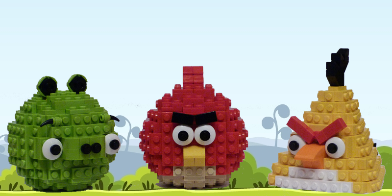 Angry Birds Movie LEGO Sets