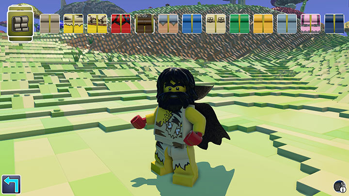 LEGO Worlds - Minifig Customization