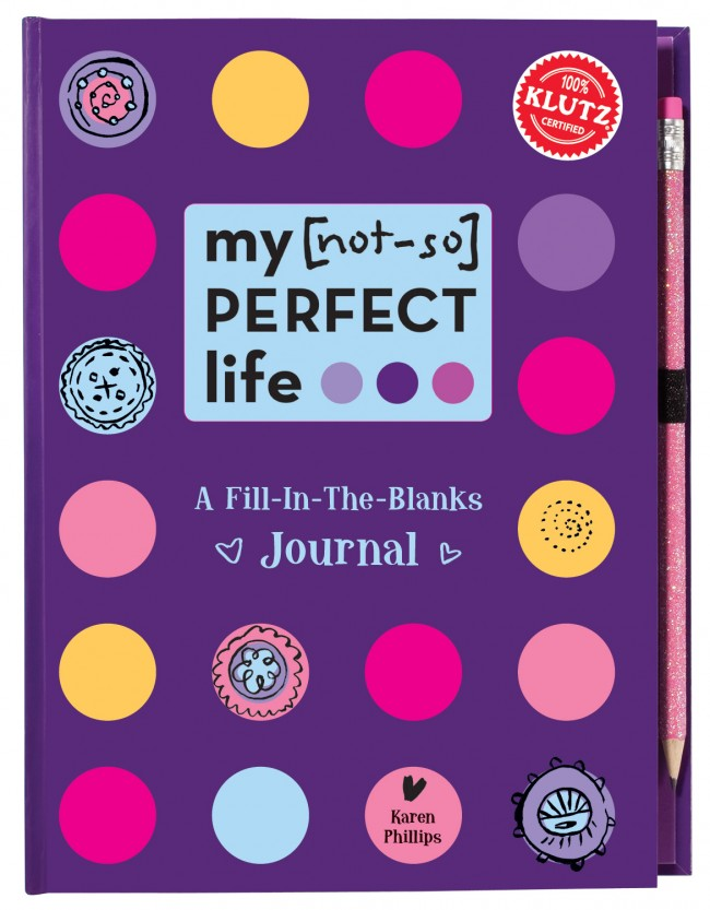 My [not-so] Perfect Life - A Fill in the Blanks Journal