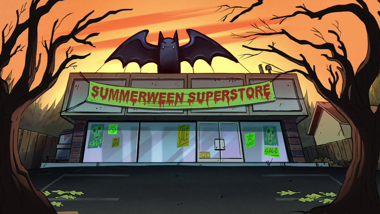 Summerween Superstore - Summerween - Gravity Falls