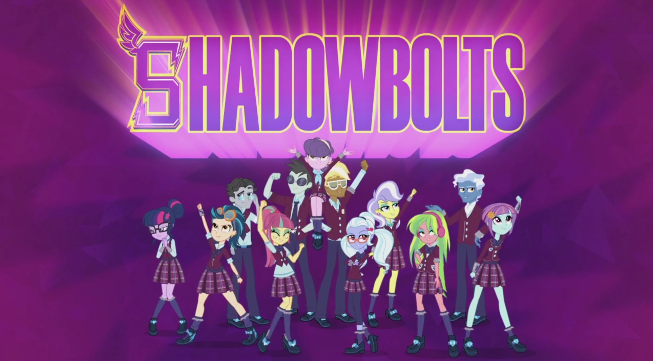 My Little Pony: Equestria Girls - Friendship Games - Shadowbolts