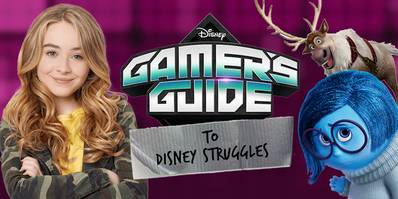 Gamer's Guide to Pretty Much Everything - Disney XD - Gamer's Guide to Disney Struggles
