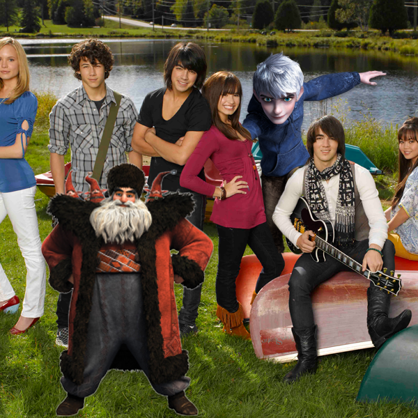 Jack Frost and Santa at Camp Rock - Christmas in July