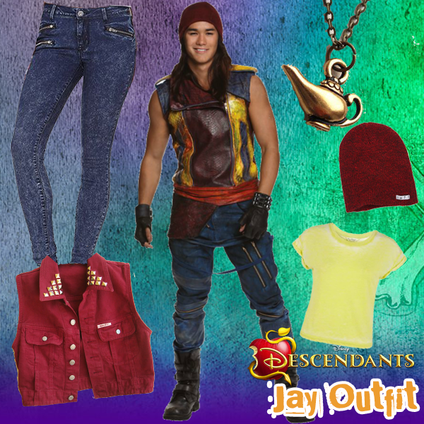 Disney Descendants Style Series: Jay Outfit