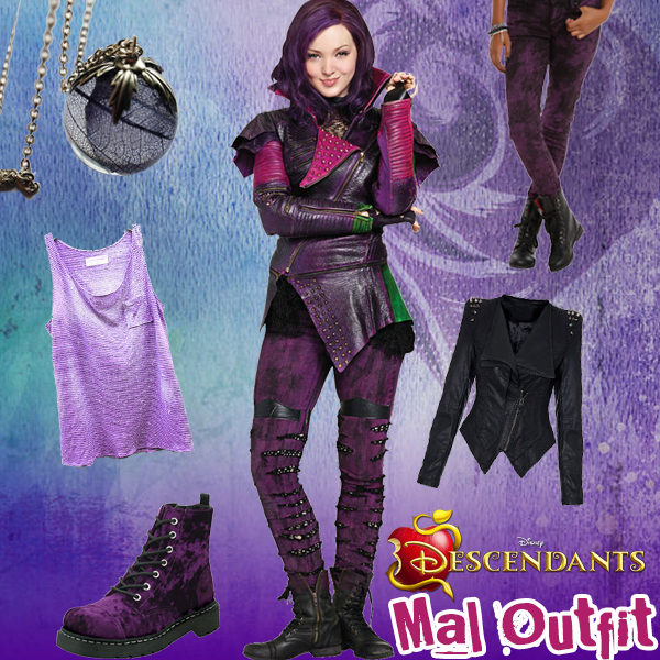 Disney Descendants Style Series: Mal Outfit