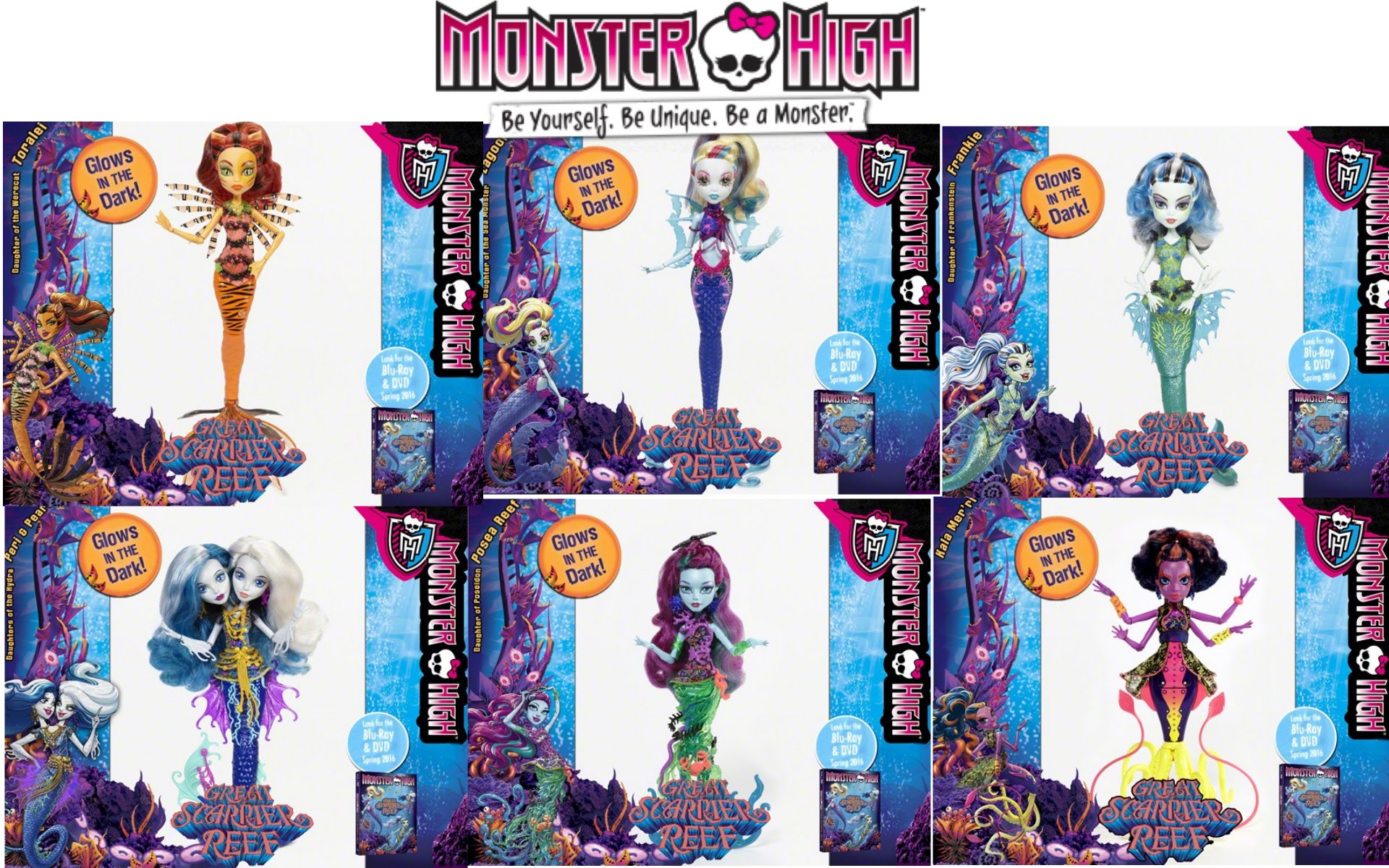 Great Scarrier Reef - Monster High