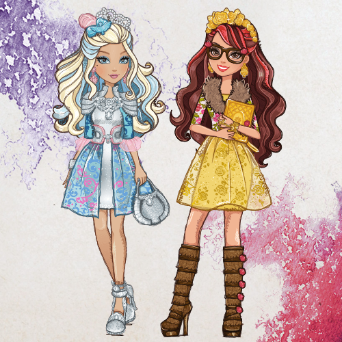 Rosabella Beauty and Darling Charming - Ever After High