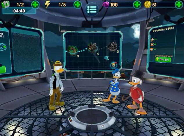 The Duckforce Rises - iOS and Android - Disney