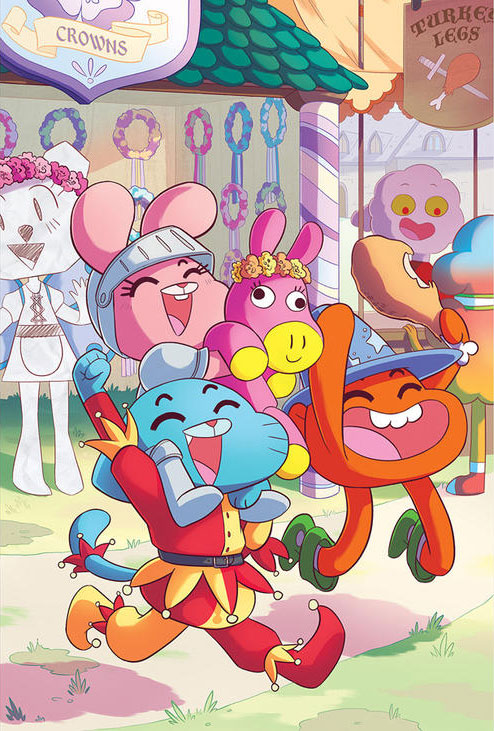 The Amazing World of Gumball: Fairy Tale Trouble Graphic Novel