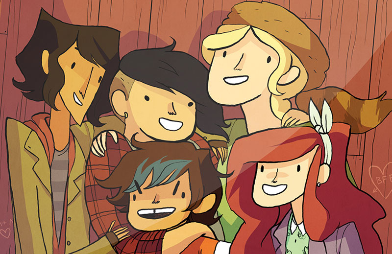 Lumberjanes - Fictional Friendship Goals