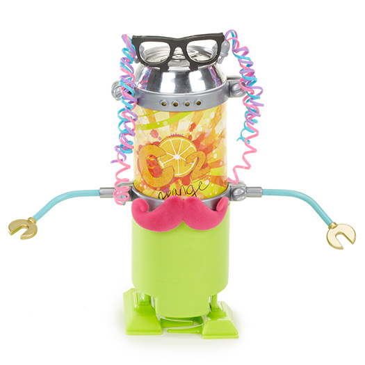 Project Mc² - Soda Can Robot Kit